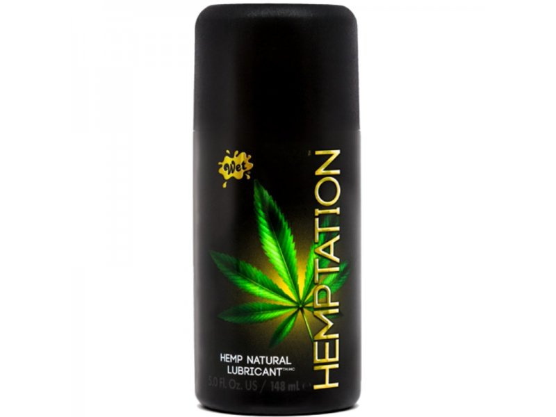 WET HEMPTATION LUBRICANTE 148 ML