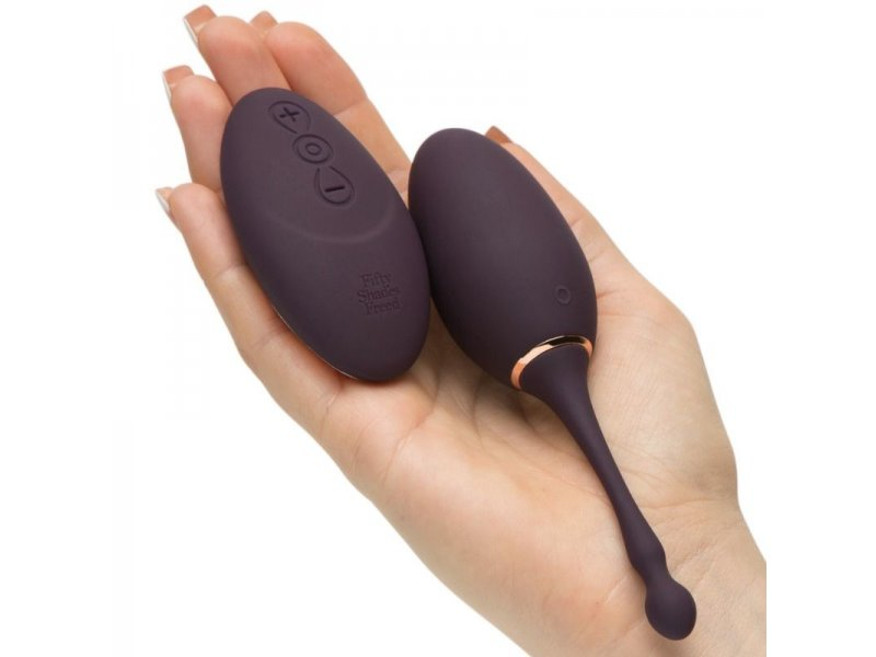 CINCUENTA SOMBRAS LIBERADAS HUEVO VIBRADOR RECARGABLE I'VE GOT YOU1047