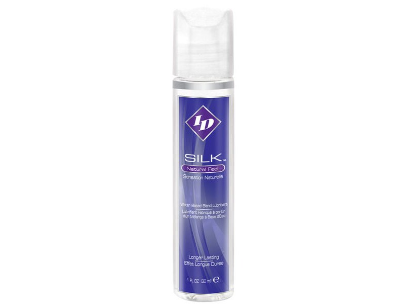 ID SILK NATURAL FEEL SILICONE/WATER 30ML