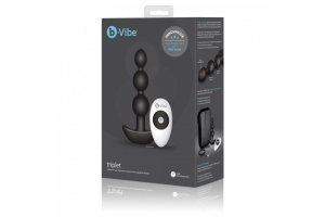 B-VIBE -TRIPLET ANAL CONTROL REMOTO BEADS NEGRO1080