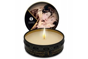 SHUNGA MINI CARESS BY CANDELIGHT VELA MASAJE CHOCOLATE 30ML11106