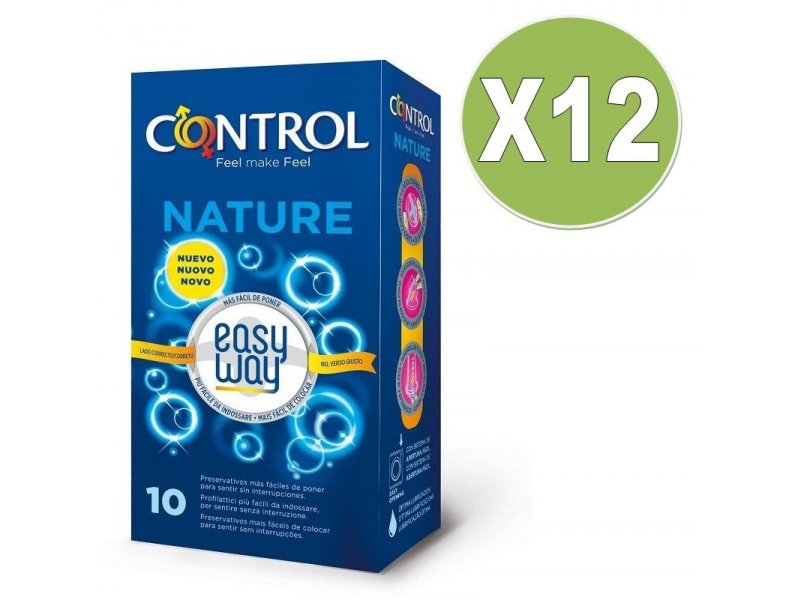 CONTROL NATURE EASYWAY 10 UDS PACK 12 UDS