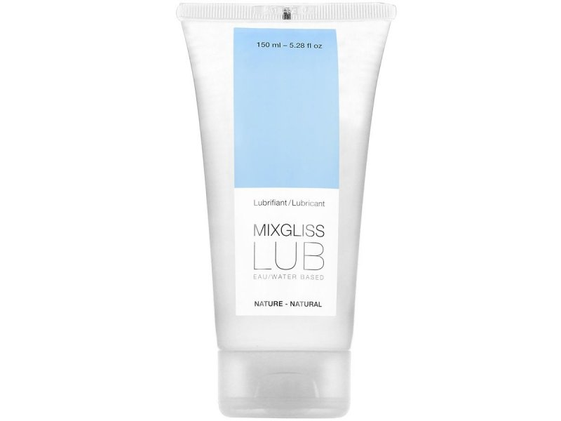 MIXGLISS LUBRICANTE BASE DE AGUA NATURAL  150ML