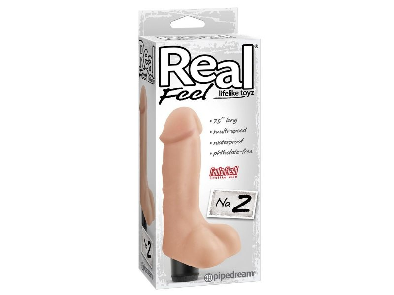 REAL FEEL LIFELIKE TOYZ VIBRADOR NUM 2 NATURAL