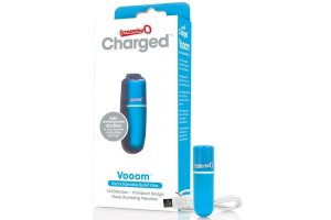 SCREAMING O BALA VIBRADORA RECARGABLE VOOOM AZUL23097
