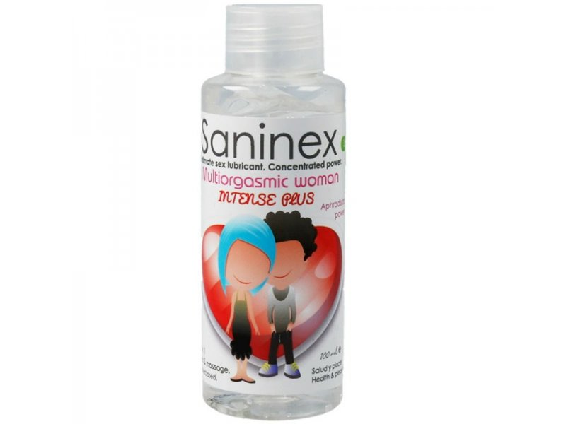 SANINEX MULTIORGASMIC WOMAN INTENSE PLUS 2 EN 1