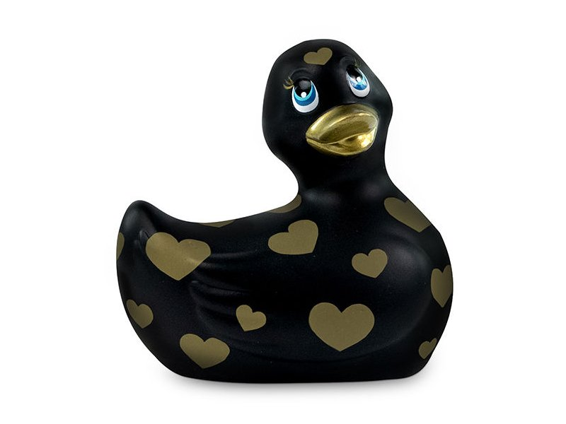 I RUB MY DUCKIE 2.0 | PATO VIBRADOR ROMANCE (BLACK & GOLD)