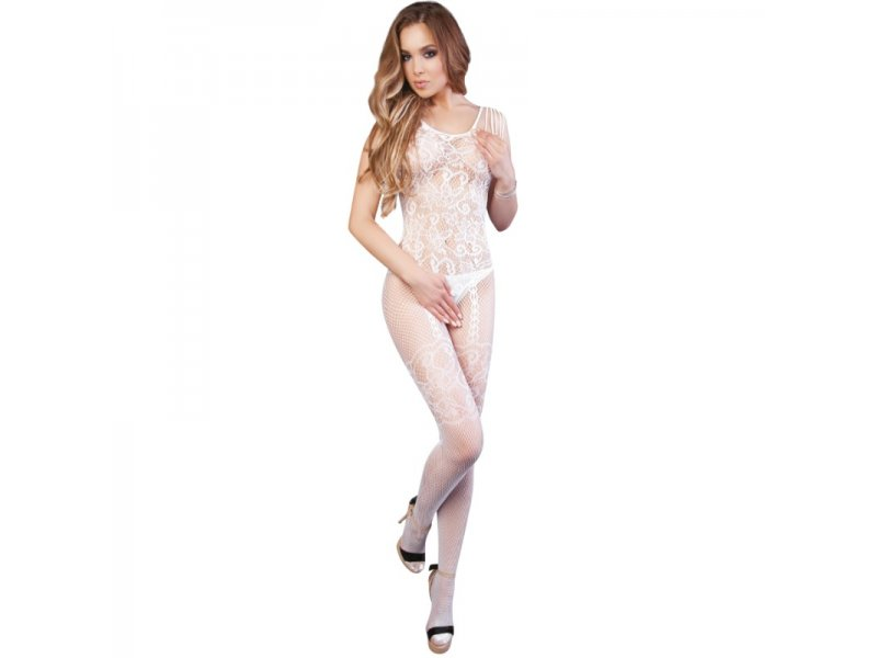LE FRIVOLE - 04509 BODYSTOCKING BLANCO S/L