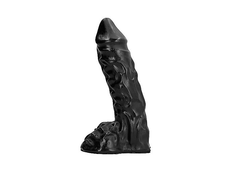 ALL BLACK DILDO 23CM