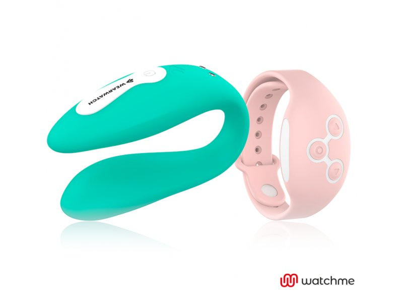 WEARWATCH VIBRADOR DUAL TECHNOLOGY WATCHME AGUA MARINA / ROSORAL