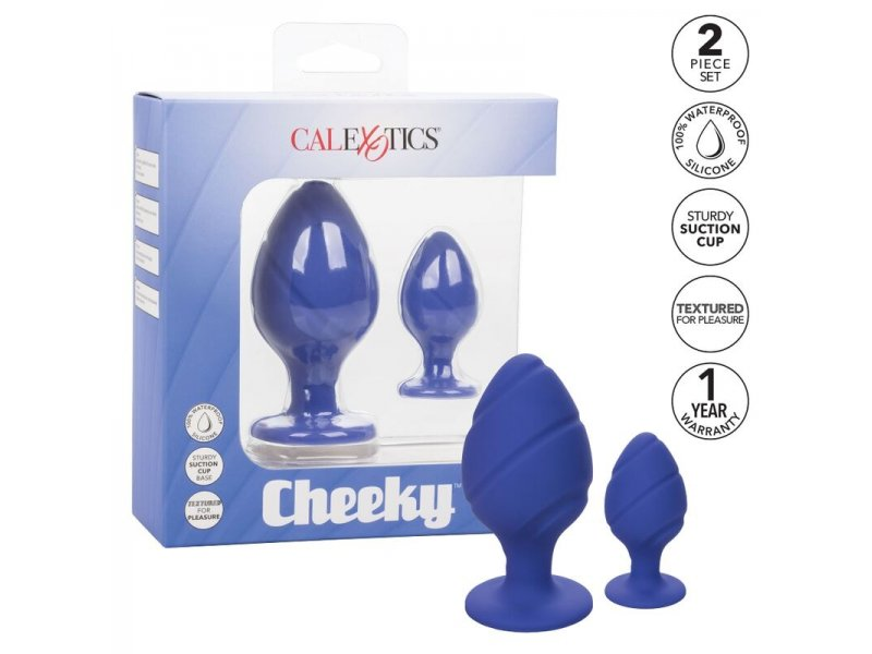 CALEX CHEEKY PLUGS ANALES LILA
