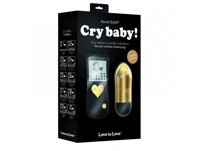 LOVE TO LOVE GOLD CRY BABY CONTROL REMOTO 10V6993