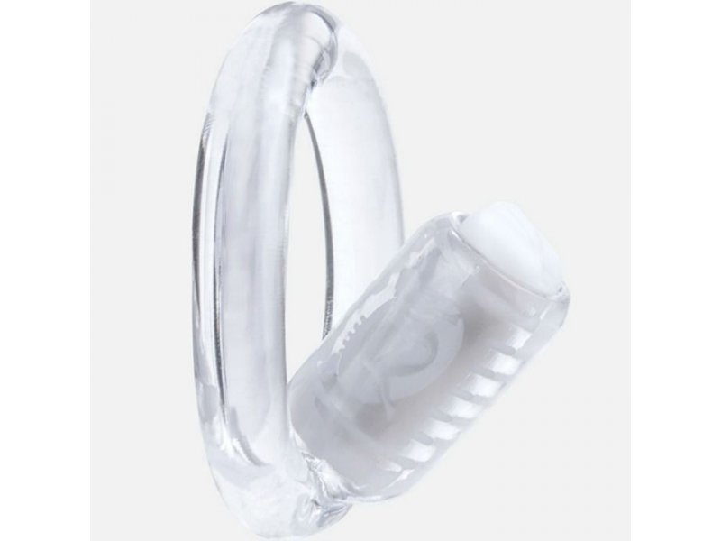 ANILLO VIBRADOR TRANSPARENTE SCREAMING O GO Q VIBE