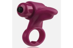 ANILLO VIBRADOR SCREAMING O YOU TURN - MERLOT