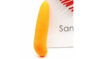 SANINEX MINI VIBRADOR MULTI EXCITING WOMAN NARANJA