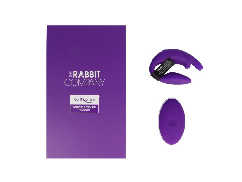 THE COUBLES RABBIT  BY WE VIBE  LILA CONTROL REMOTO8194