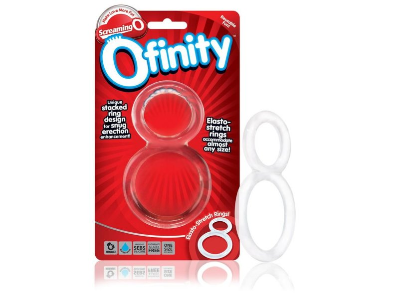 SCREANING O OFINITY ANILLO DOBLE TRANSPARENTE